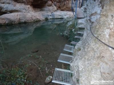 Rincón de Ademuz;puente club viajes barranco del río dulce refugio elola gredos